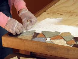 how to make a mosaic tile tabletop