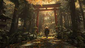Japanese Tori Gate [3840×2160] (simple ...
