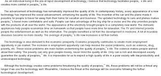 sample college essay about technology in our life essay about technology in our life