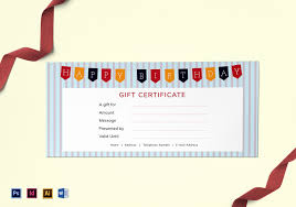 Gift Certificate Word Gift Certificate Template Photoshop New Happy Birthday Gift 10