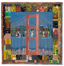 FAITH RINGGOLD STORY QUILT HEADLINES APRIL AFRICAN-AMERICAN FINE ... & Lot 94 Faith Ringgold, Double Dutch on the Golden Gate Bridge, story quilt  from Adamdwight.com
