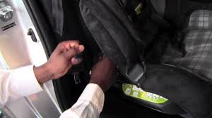 2012 | Toyota | Yaris | Car Seat Latch System | How To By Toyota ...