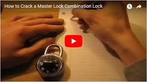 how to pick a master lock. How To Figure Out A Forgotten Master Lock Padlock Combination. All You Need Is Piece Of Paper, Something Write With And Combination Lock. Pick O