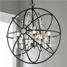 chandelier orb beautiful small orb chandelier iron