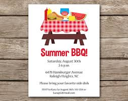Barbeque Invitation Bbq Invitation Bbq Invite Barbecue Invitation Barbeque Invitation