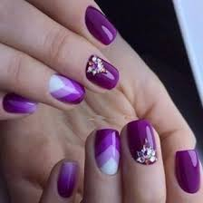 Purple Lilac Manicure 2018 2019 Photo Designs Fashionable Style