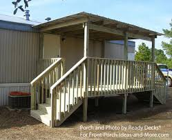 mobile home deck designs. porch designs for mobile homes home deck l
