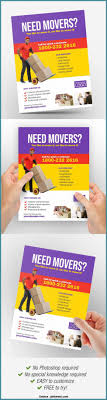 Moving Flyer Template Custom Business Moving Flyer Moving Service Company Flyer
