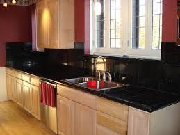 kitchen modern granite. Modern Black Granite Tiled Kitchen Countertops I
