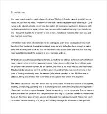 11 Love Letter Templates To My Husband Doc Free