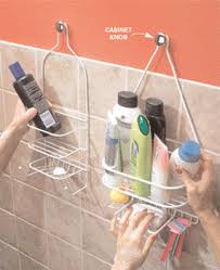 The trouble with those shower caddies that hang from the shower head pipe  is that you