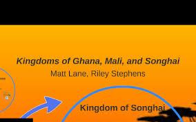 Kingdoms Of Ghana Mali And Songhai By Matt Lane On Prezi