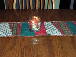 easy quilted table runner