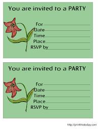Free Printable Birthday Invitation Templates For Kids Free Printable Birthday Party Invitations Templates Holidayinnknoxwest