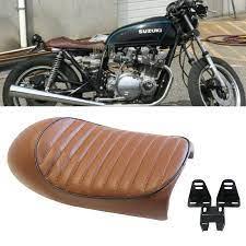 vine cafe racer hump custom saddle