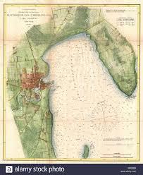 Plattsburgh And Cumberland Bay Lake Champlain New York