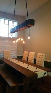 reclaimed lighting. Wood Beam Light Fixture Reclaimed For A Rustic Chandelier This Faux Is Made Of 4 Fixtures Lighting