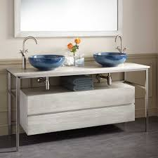 Teak Vanity Bathroom 60 Roeding Teak Vessel Sink Vanity Light Gray Other Colors