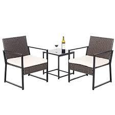 yourlite 3 pieces patio furniture set