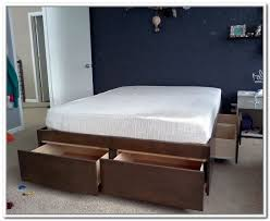 king size bed frame with storage plans king platform bed frame with storage74 with