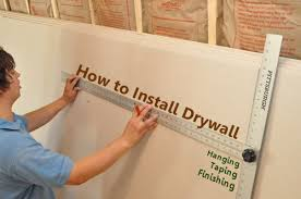 how to hang sheet rock how to install drywall with 75 pics hanging taping finishing