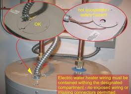 how to wire water heater wiring water heater