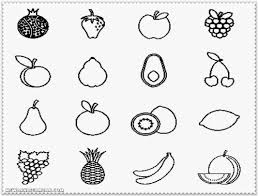 Coloring pages for kids fruits and vegetables coloring pages. Fruits And Vegetables Pictures To Print