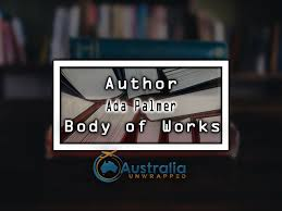 Ada Palmer Body of Works – Oeuvre - Australia Unwrapped
