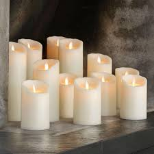 Multi Wick Candles Moving Wick Flameless Candle Moving Wick Flameless Candle