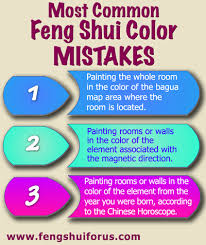 The Colors Of The Bagua Map Only Indicate The Color Of The Feng Shui Cure  For That Life Area, Not The Color For The Walls Or For The Interior  Decoration Of ...