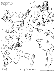 Download Coloring Pages Forgiveness Coloring Pages Fresh On Exterior