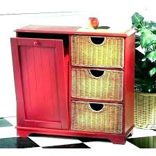red kitchen trash can kitchen garbage cans indoor garbage can storage small kitchen garbage cans with