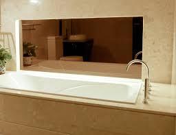 Bronze Mirror Bathroom Using Bronze Glass And Mirror In Bathroom Interior Design