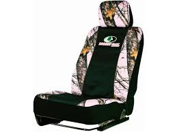 pink mossy oak break up universal camo seat cover low back seat cover