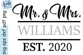 Find & download free graphic resources for svg. Mr And Mrs Svg Wedding Svg 2020 Marriage Svg 536054 Svgs Design Bundles