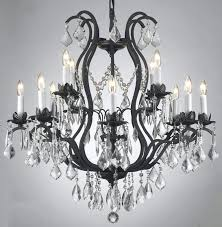 black chandeliers with crystals image of antique black iron chandelier black chandeliers with crystals