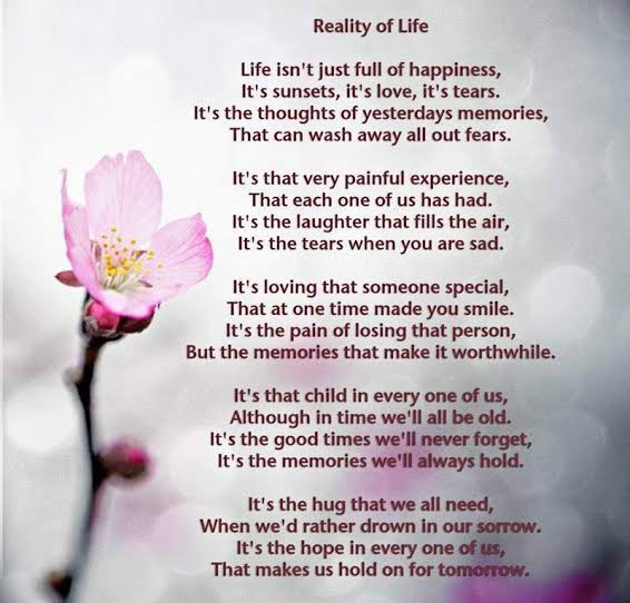 poems about life lessons