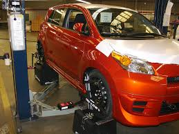 toyota research and development has chosen to partner with tru line laser alignment to take care of their at port wheel alignment tru line s portability