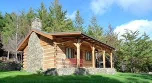 Cumberland Trace 2 Story  Small Log Home Plans  Rustic Home Small Log Home Designs