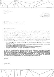 Cover Letter It Professional Cover Letter Examples By Real People Junior Architect Cover