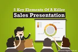 Sales Presentaion 5 Killer Key Sales Presentation Elements Inbound