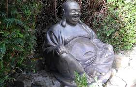 massive laughing buddha