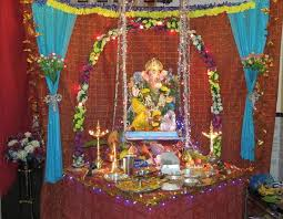 ganpati home simple decoration home decor