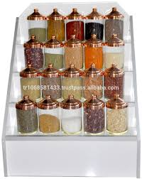 Decorative Spice Jars Glass Jar With Copper CoverSpice Jars With LidsCandy And Sweet 52