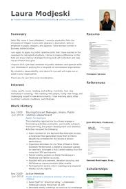 public relations sample resume public relations resume samples visualcv resume samples database