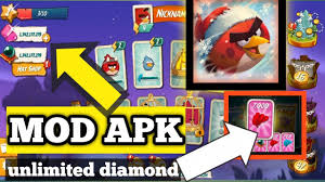 Angry Birds 2 (MOD, Unlimited Money) ||how to hack angry birds 2 by VG Tips  Official - YouTube