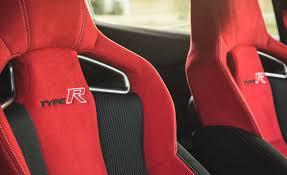 2017 honda civic type r interior seats front details photo 20 of 48