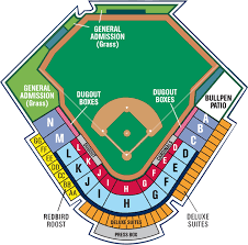 Springfield Cardinals Tickets Seating Chart Elcho Table