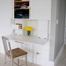 traditional hidden home office desk. Creative Ways To Hide A Small Home Office RenoGuide Traditional Hidden Desk