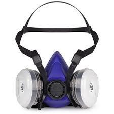 sas bandit n95 disposable dual cartridge respirator 8661 93 large dust masks respirators